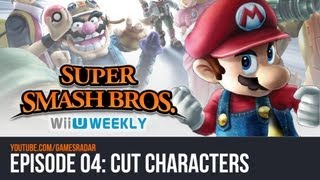 Super Smash Bros. Wii U/3DS Weekly Characters That Won't