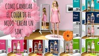 Como Cambiar El Color De Las Paredes Del CAS Los Sims 3