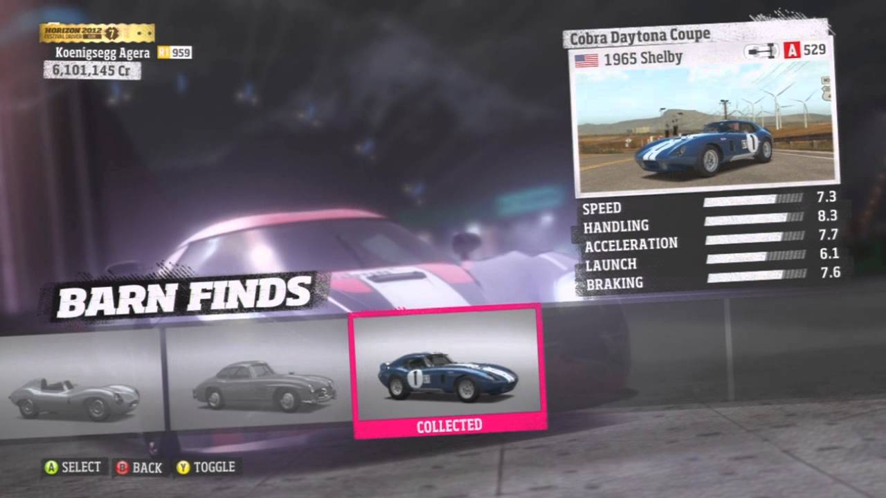 Mercedes Barn Find >> Forza Horizon All 9 Barn Find Cars - YouTube