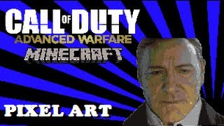 "Call of Duty: ""Advanced Warfare"" In Minecraft - Minecraft Pixel Art Tutorial! (Jonathan Irons)"