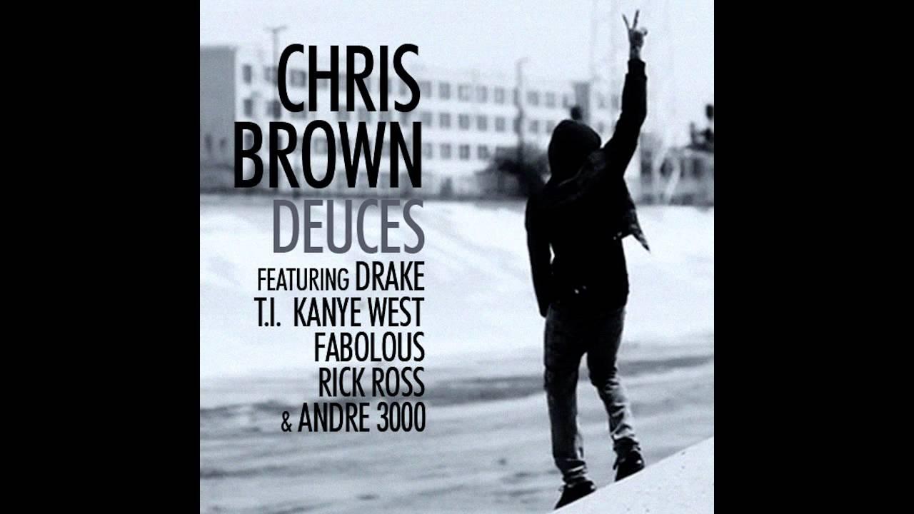 deuces chris brown drake