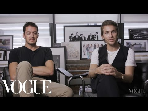 Vogue Voices: Marcus Wainwright and David Neville at Rag & Bone