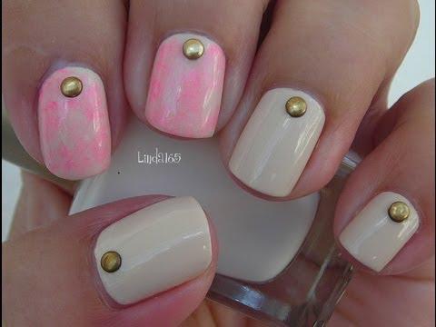 Nail Art October in Pink - Desing