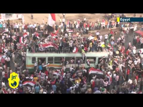 Egypt referendum: officials report huge support for military-backed constitution