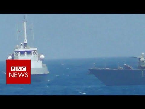 خطير..البحرية الأمريكية تطلق النار على سفينة للحرس الثوري الايراني