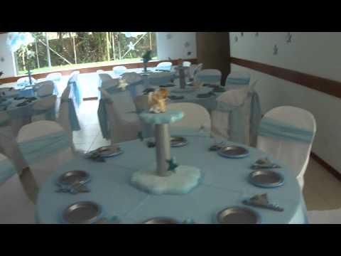 FIESTA TEMATICA - ICOPOR - BAUTIZO SIMON SEP 11-2011- VISTA GENERAL DEL SALON DESDE INGRESO