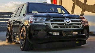 2000HP Toyota Land Cruiser (2017) World's Fastest SUV [230mph / 370kph]. YouCar Car Reviews.