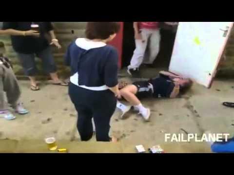 Những tai nạn cười ra nước mắt - clip hài