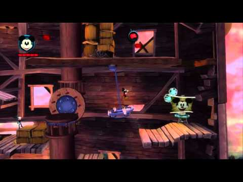 Epic Mickey 2 E3 2012 Stage Demo