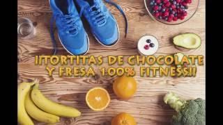 NUEVO VÍDEO - ¡Tortitas Fitness Chocolate y Fresas buenísimas!