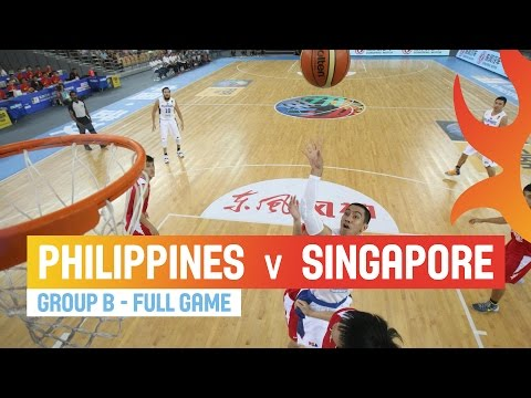 Philippines v Singapore - Full Game Group B - 2014 FIBA Asia Cup