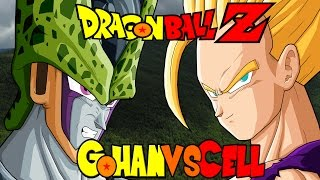 Dragon Ball Z Kai AMV Gohan Vs Cell Linkin Park In The
