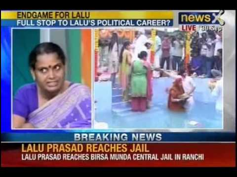 NewsX: Lalu Prasad Yadav taken to jail after being convicted in fodder scam
