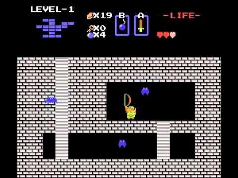The Legend of Zelda NES Gameplay Demo - NintendoComplete