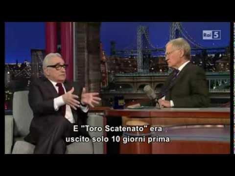 Мартин Скорсезе в шоуто на Летерман