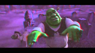 SHREK 3D Red Cyan