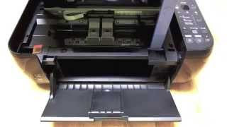 Canon MP280 Changing The Cartridges