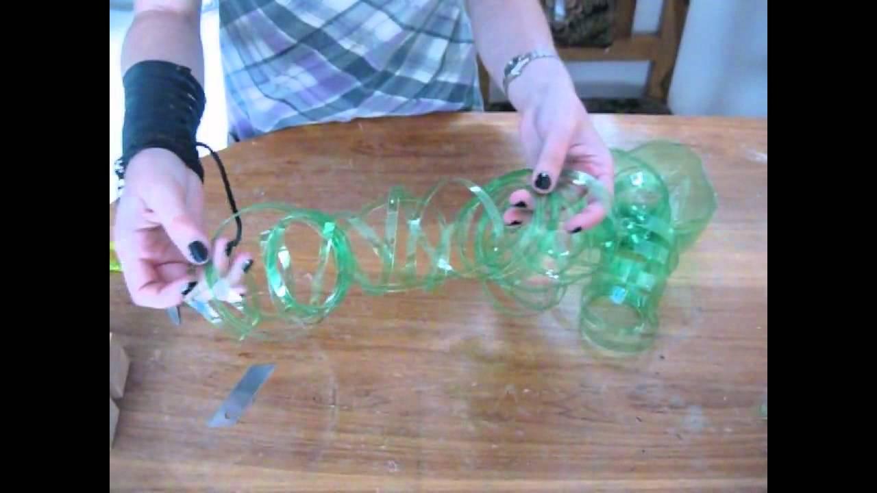 Manualidades Con Reciclaje De Botellas