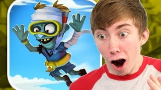 ZOMBIE HIGH DIVE (iPhone Gameplay Video)