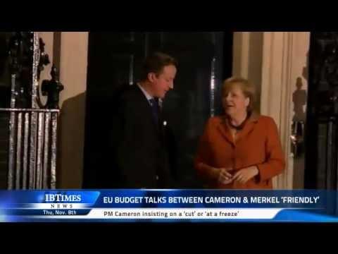 EU budget talks between Cameron & Merkel 'friendly'