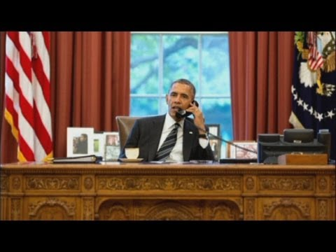 President Obama holds historic phone call with Iran's President Rouhani