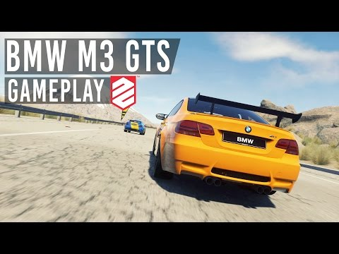 BMW M3 GTS Gameplay (Calvin Harris C.U.B.A) TRAP REMIX