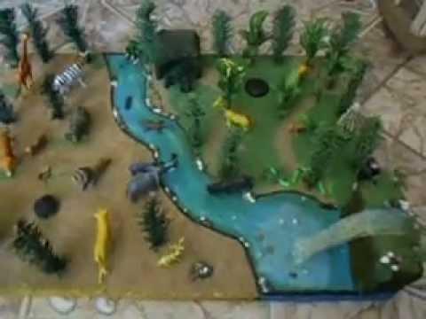 Maquetas de animales de la selva - Imagui