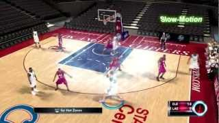 NBA 2K12: How To Throw And Do An Alley-oop On Xbox 360/PS3