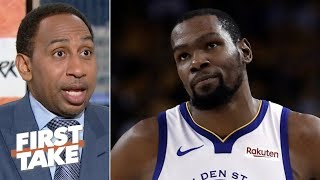 Having Kevin Durant is the only way the Warriors will beat the Bucks – Stephen A.   First Take