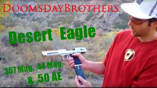 Desert Eagle Ultimate Review: All Three Calibers (.50 AE