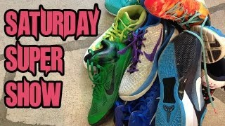 THE TOURNAMENT, ALL MY SHOES, UPDATES!! -  Saturday Super Show w/GhostRobo!!