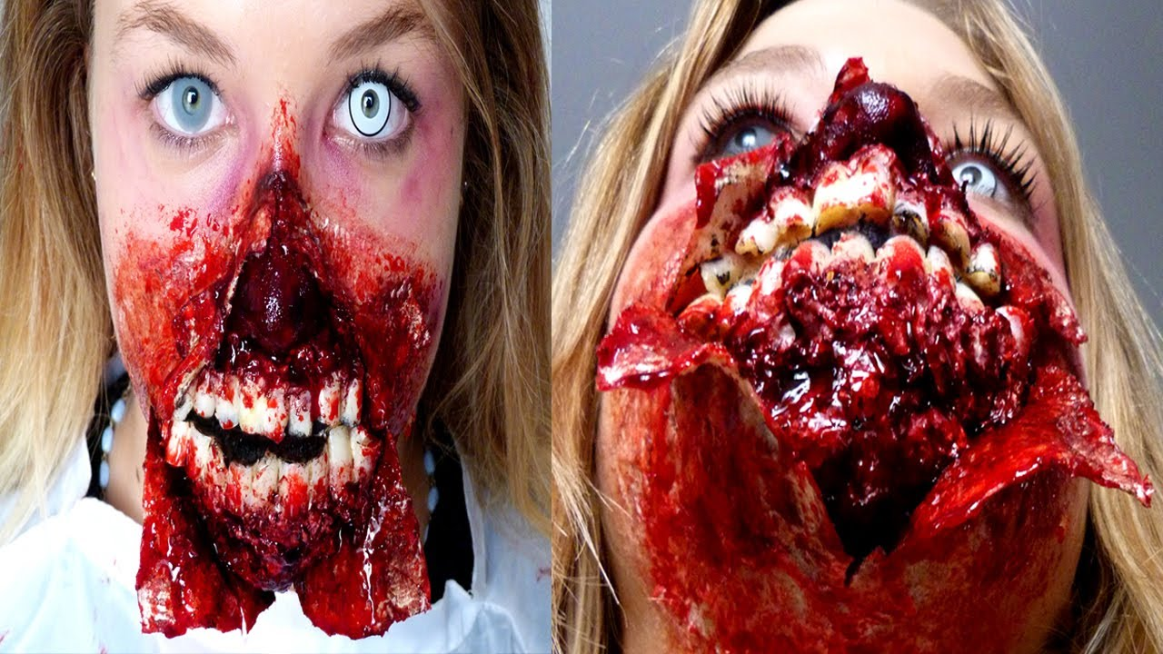 maquillage zombie zombie makeup youtube. Black Bedroom Furniture Sets. Home Design Ideas