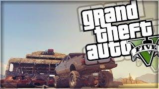 GTA 5 | Sandking Challenge (GTA V Online Funny Moments)