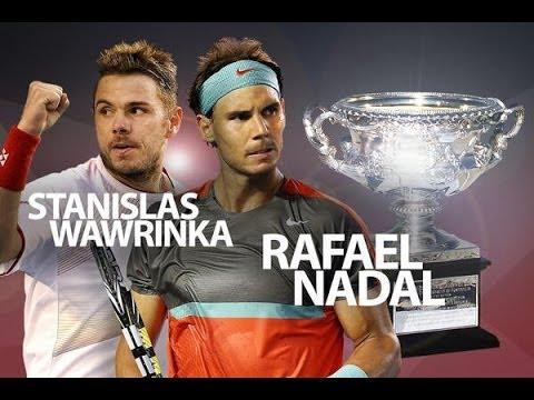 (HD) Stanislas Wawrinka vs Rafael Nadal Australian Open 2014 FINAL (ESPN) - HIGHLIGHTS