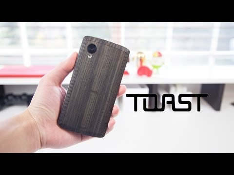 Toast Real Wood Nexus 5 Skin Review