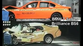 Crash Test Comparison: BMW Vs. Brilliance