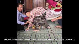 Từ thiện nhà anh Nghị nuôi 2con đầu nhỏ teo não ở Sài Gòn