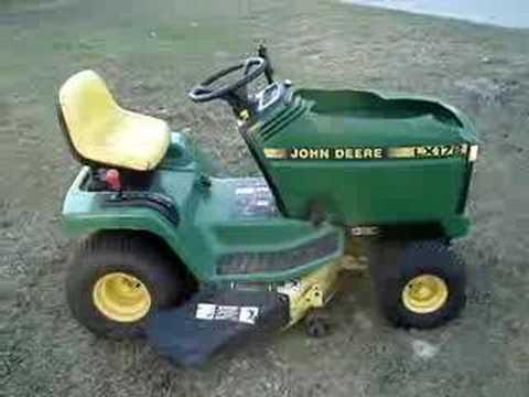 John deere lx 172 3 youtube - Tondeuse john deere jm36 ...