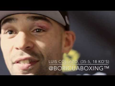 LUIS COLLAZO vs. Victor Ortiz Post Fight Press Conference / Interview!