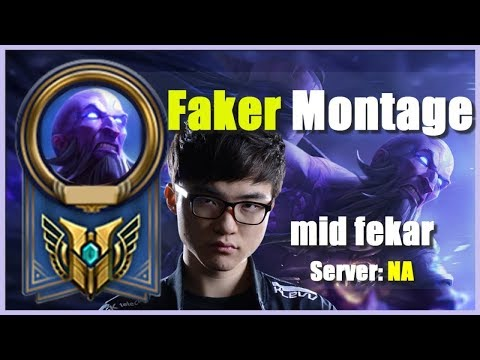 Faker - Best Ryze in the World | Ryze God Montage