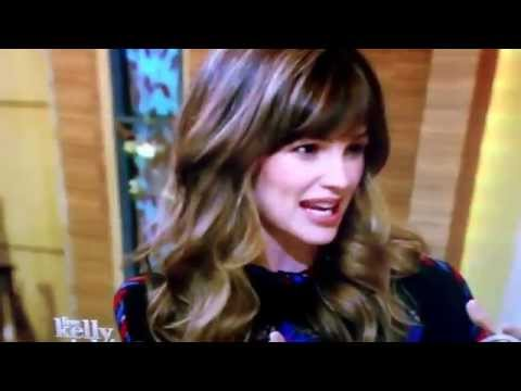 Jennifer Garner on kelly & Michael live.