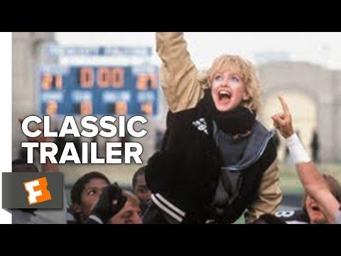 Wildcats (1986) Official Trailer - Goldie Hawn, Woody Harrelson Sports Movie HD