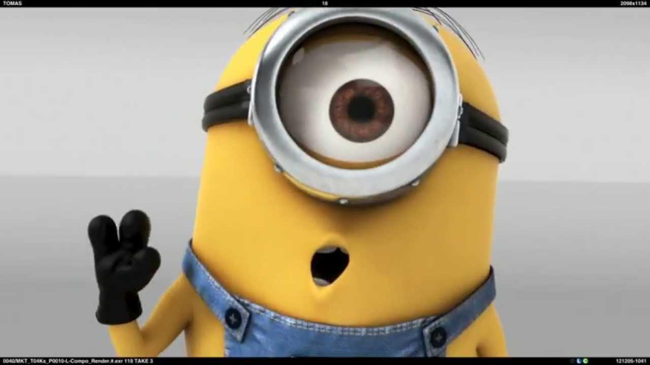 Despicable Me Minions - Hello, Kiss - YouTube