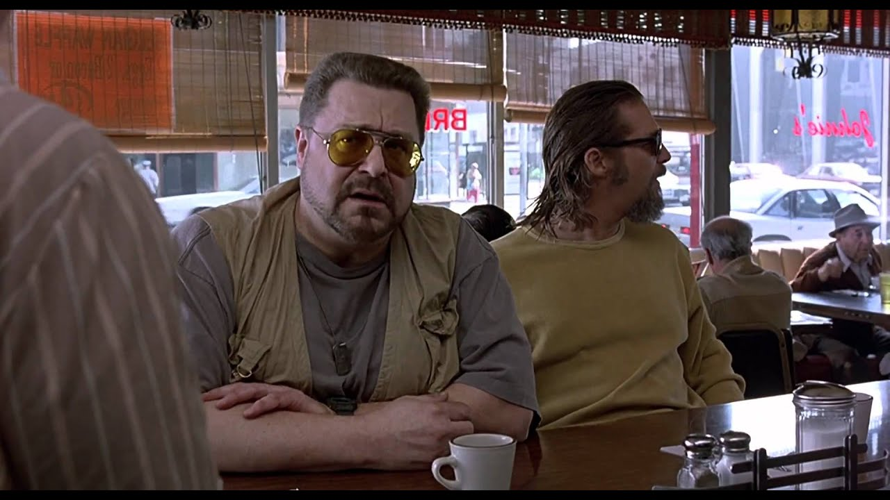 Displaying 18 gt  Images For - The Big Lebowski Walter Gun   The Big Lebowski Walter