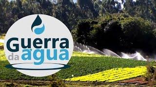 GUERRA DA �GUA - Planta��es de hortali�as sugam �gua da regi�o de Caet�