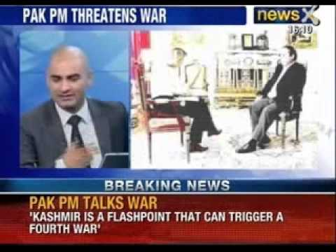 Kashmir a flashpoint for another Indo-Pak war : Nawaz Sharif - NewsX