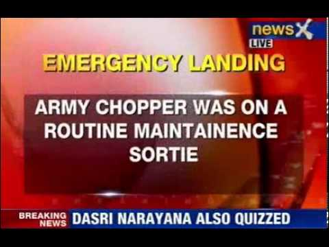 Army Chopper makes emergency landing in Siachen area