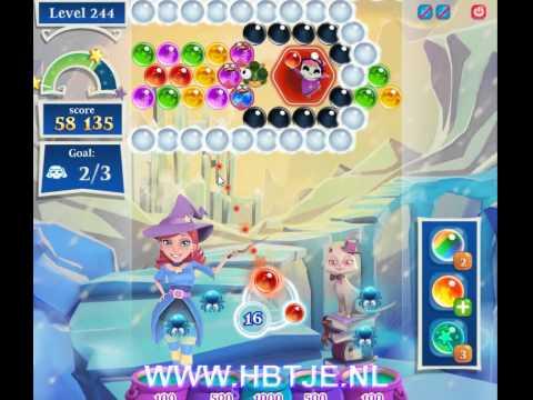 Bubble Witch Saga 2 level 244 new