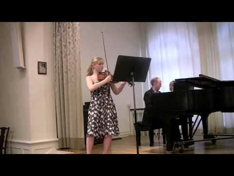 Grieg Sonata No. 3 for Violin and Piano, 2nd movement