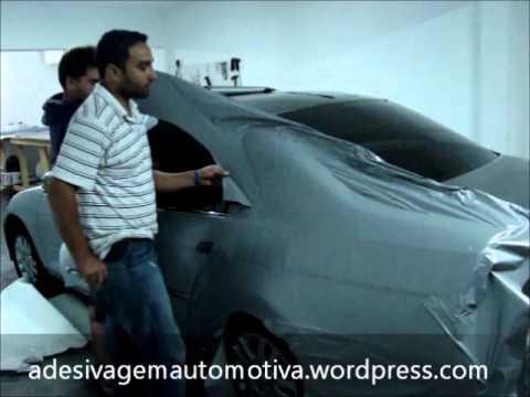 Adesivagem Automotiva Civic Prata Fosco